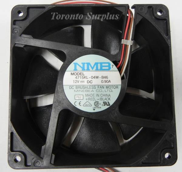 NMB Minebea 4715KL 04W B46 DC Axial Fan