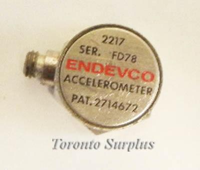 Endevco 2217 Accelerometer