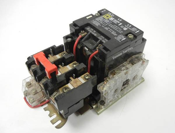 dscn6292 square d 8536 sco3v02s 8536sco3v02s size 1 starter, 3 phase, 600v