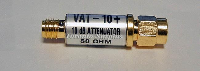 Mini-Circuits VAT-10+ VAT10+ Fixed Attenuator SMA DC-6GHz, 10dB 50 Ohm