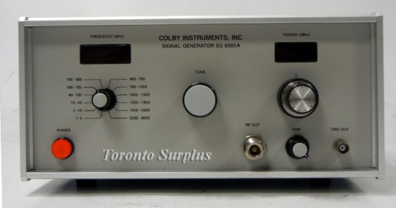 Colby Instruments SG 8000A Signal Generator