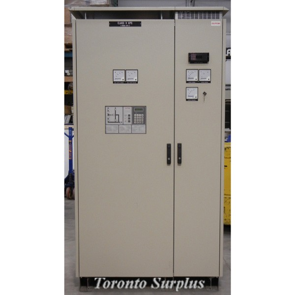 NEW Gutor Class ll UPS PEW 1010-110/120-EAN / 1-55000-UPS-2 AC to AC Uninterupted Power Supply, Nuclear Certified, Input  3 phase 208VAC / 80.8A / 30.9kVA / 25.7kW, Output 1 Phase 120VAC / 83.3A / 10kVA / 8kW, Brand New / NOS