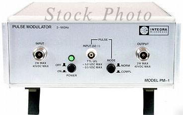 Integra Microwave PM-1 - Pulse Modulator 2 - 18GHz
