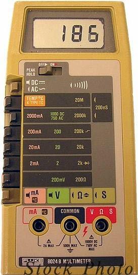 Fluke 8024B Digital Multimeter - ANALOG & DIGITAL