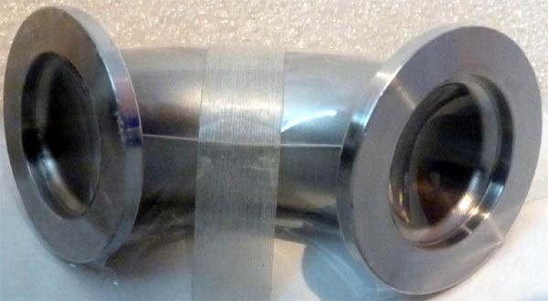 Duniway KF25-EL90 / KF25EL90 NW Stainless Steel Vacuum Fitting 90 Degree Elbow - BRAND NEW / NOS