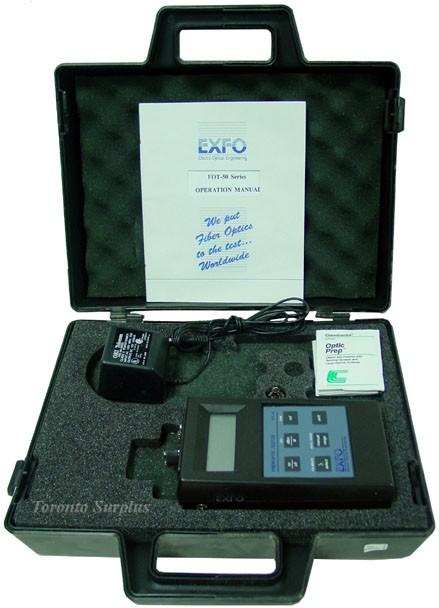 EXFO-50 Series FOT-50 Fiberoptic Power Meter