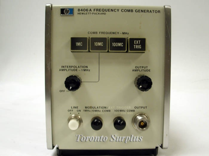 HP 8406A Agilent 8406A Frequency Comb Generator 5 GHz