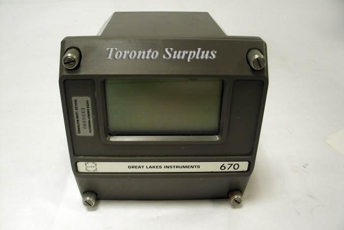 Great Lakes Instruments 670