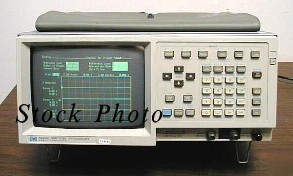 Hp Digital Oscilloscope : Hp a agilent digital storage oscilloscope