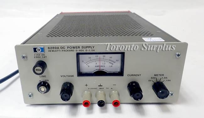 A 40v 1 5a Hp 6289a Agilent 6298a Power Supply 0 40