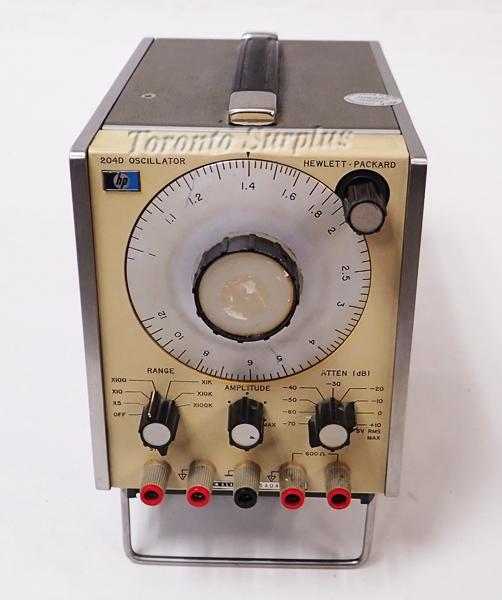 HP 204D / Agilent 204D Oscillator