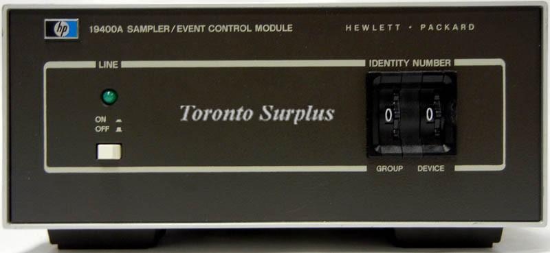 HP 19400A / Agilent Sampler/Event Control Module for Gas Chromatograph