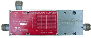 Narda Microline 3044-20 Directional Coupler, 4.0 to 8 GHz, -20 dB, Type N Connectors