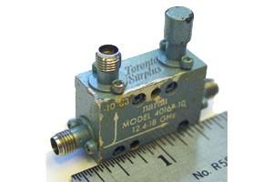 Narda 4016B-10 Directional Coupler, 12.4-18 GHz, -10 dB