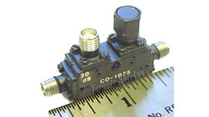 Triangle Microwave Mil Spec Directional Coupler 80063-SM-A / 935804-2 / C0-1075, 20 dB