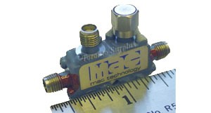 Mac Technology C3207-6 Directional Coupler, 12.4-18 GHz, 6 dB, VSWR 1.35
