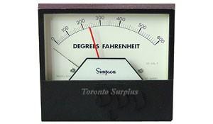 Simpson 3300 Series 3324 Temperature Controller 0 - 600&deg