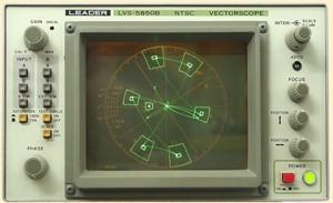 Leader 5850B Vectorscope