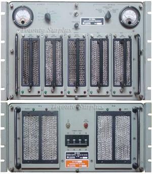 Harris RF-1110A Amplifier / RF-1124 Power Supply