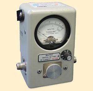 Bird 4410 Thruline Wattmeter, RF Directional Wattmeter