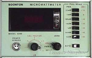 Boonton 42BD RF/RMS Microwattmeter