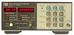 HP 3437A / Agilent 3437A - System Voltmeter