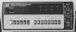 HP 3466A / Agilent 3466A - Digital Multimeter
