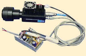 Hamamatsu H7421-40 Photon Counting Head  with M9011 Power Supply & Olympus Lens