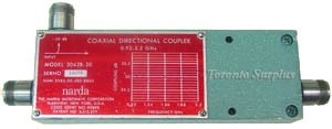 Narda 3042B -10 Coaxial Directional Coupler, 0.92 to 2.2 GHz   9.8 dB