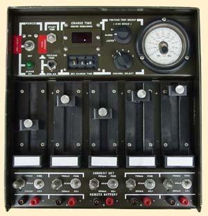 PP-7286/U 5-Station Battery Charger, 6V, 12V, 24V, 28V, Ni-Cad or Ni-MH