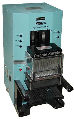 ARI Art Robbins Instruments / Robbins Scientific Hydra 96 / 96AW Microdispenser / Liquid Handling System / Pipetting Stn