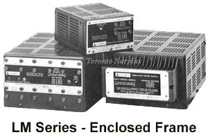 a  14V,    0.9A Lambda LM-204 Power Supply, Linear Regulated 0-14 V, 0.90 Amp