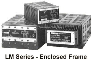 a   7V,   2A Lambda LM-252 Power Supply, Linear Regulated 0-7 V, 2 Amp