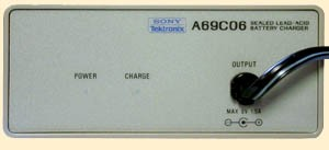 Tektronix / Sony Tektronix A69C06 Battery Charger for A6906S Voltage Isolation System