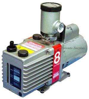Edwards E2M8 / E2M-8 Dual Stage Rotary Vane Vacuum Pump ** REBUILT **