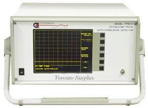 Opto-Electronics / Research in Electro Optics PPAD 10 Picosecond Pulse Autocorrelation Detector