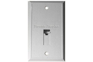 Armiger - Telephone Jack Cover, Wall Phone Jack, WallPlate, Wall Plate - Standard Beige Jack (NOS) (In Stock)