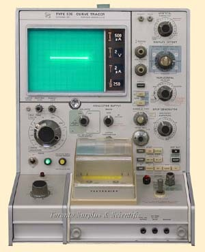 Tektronix 576 Curve Tracer with Standard Test Fixture 390-0098-00 (In Stock)