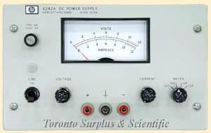 a  10V,  10A HP 6282A / Agilent 6282A Power Supply 0-10 VDC, 0-10 Amp