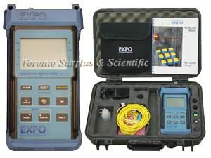 Exfo FOT-910 Fiber Optic Test System, Model FOT-912X-23BL-70 &  (In Stock) z1