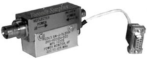 RF Directional Coupler,  220 to 105 MHz