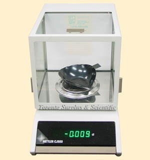 Mettler Toledo Cj500 Enclosed Precision Carat Jewelry