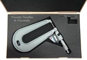 Mitutoyo 389-711-10 Deep Throat Micrometer (In Stock) 4m