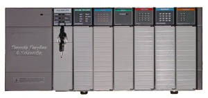 Allen Bradley 1700 Series PLC Rack With Modules (In Stock)