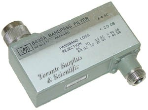 HP 8435A / Agilent 8435A Bandpass Filter 4 to 8 Ghz (In Stock)