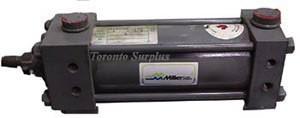 """Miller Fluid Power A74B2B Pneumatic Cylinder - Stroke: 4"""""""