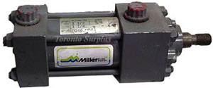 "Miller Fluid Power A74B2N Pneumatic Cylinder - Stroke: 1 1/4"""