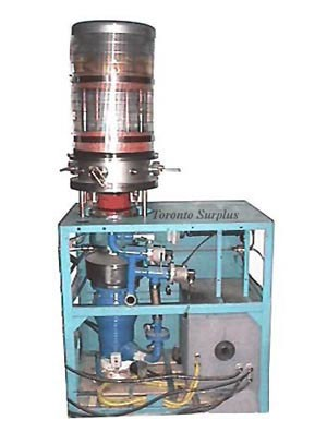 Vacuum Deposition / Plating System with Glass Bell Jar & LN2 Trap