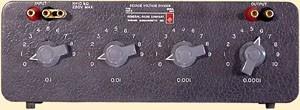 General Radio 1454-A GenRad Decade Voltage Divider