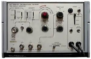 Tektronix 067-0561-01 Calibration Fixture, Test Display Generator